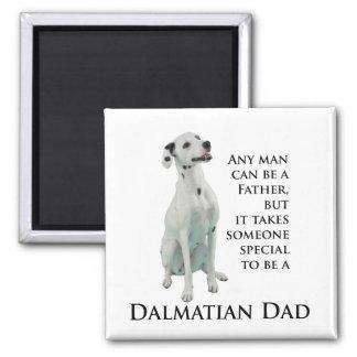 Dalmatian Dad Magnet Refrigerator Magnets