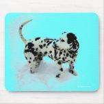 """Dalmatian Deco"" Mousepad Tapetes De Raton"