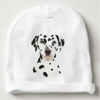 Dalmatian Dog Art Baby Beanie