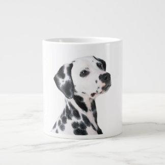 Dalmatian dog beautiful photo, gift giant coffee mug