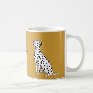 Dalmatian Dog customizable Mugs
