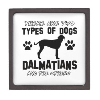 Dalmatian dog designs premium keepsake box