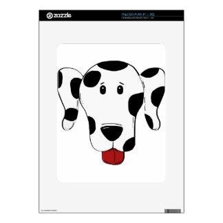 Dalmatian Dog Drawing Skins For iPad