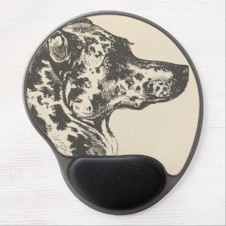 Dalmatian Dog Illustration Gel Mouse Pad