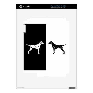 Dalmatian dog iPad 2 decals