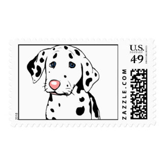 Dalmatian Dog Postage Stamps