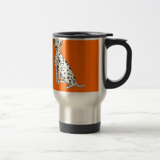 Dalmatian Dog Travel Mugs customizable products