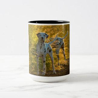 Dalmatian Dogs Mug