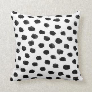 Dalmatian Dot   Throw Pillow
