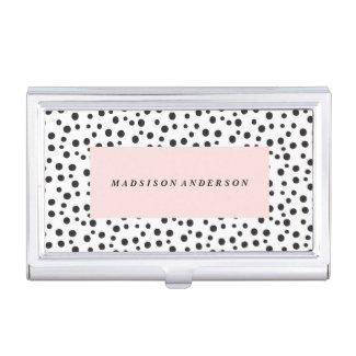 Dalmatian Dots   Business Card Holder