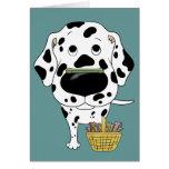 Dalmatian - Easter Bone Hunt, Anyone? Card