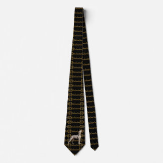 Dalmatian Elegance Neck Tie