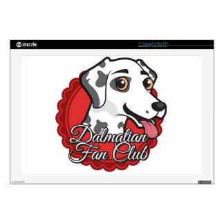 """Dalmatian Fan Club 17"""" Laptop Skins"""