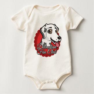 Dalmatian Fan Club Baby Bodysuit