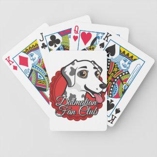 Dalmatian Fan Club Bicycle Playing Cards