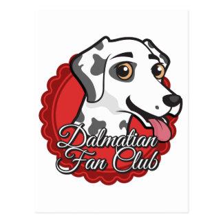 Dalmatian Fan Club Postcard