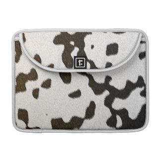 dalmatian faux skin sleeve for MacBook pro