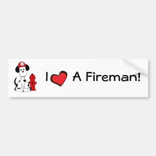 Dalmatian Fire Dog Bumper Bumper Stickers