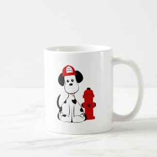Dalmatian Fire Dog Coffee Mugs
