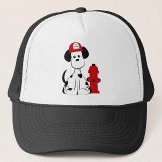 Dalmatian Fire Dog Trucker Hat