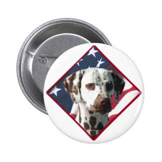 Dalmatian Flag 2 Button