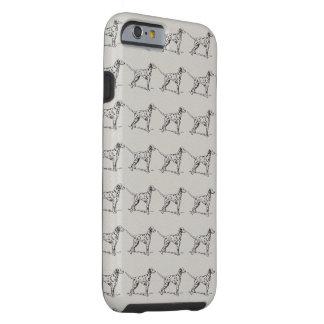 Dalmatian Funda De iPhone 6 Tough