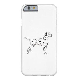 Dalmatian Funda Para iPhone 6 Barely There