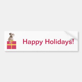 Dalmatian Gift Box Bumper Stickers