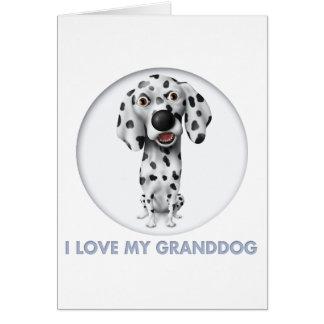 Dalmatian Granddog Card
