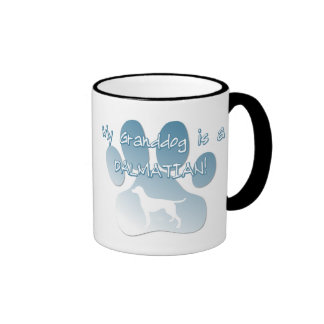 Dalmatian Granddog Ringer Mug