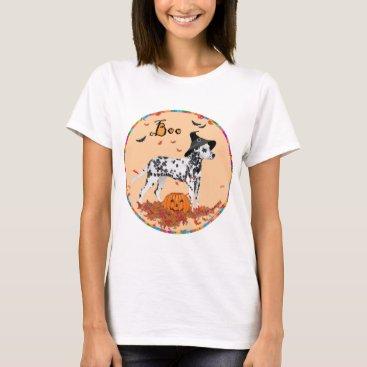 Halloween Themed Dalmatian Halloween T-Shirt