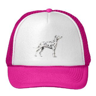 Dalmatian Trucker Hats
