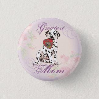 Dalmatian Heart Mom Button