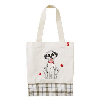 Dalmatian hearts zazzle HEART tote bag