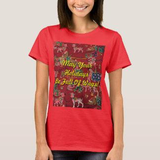 Dalmatian Holiday Print T-Shirt