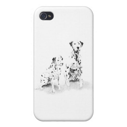 Dalmatian iPhone Case iPhone 4 Cases