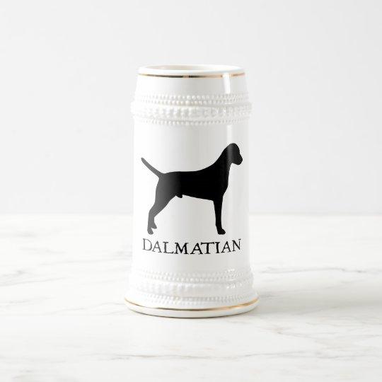 Dalmatian Jarra De Cerveza