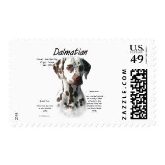 Dalmatian (liver) History Design Stamp