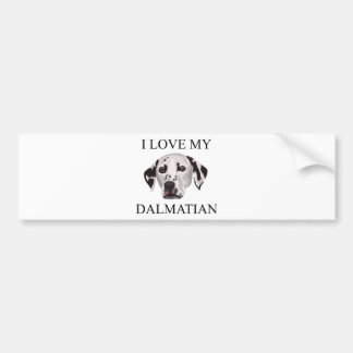 Dalmatian Love! Bumper Sticker