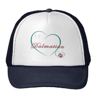 Dalmatian Love Mesh Hat