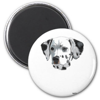 Dalmatian 2 Inch Round Magnet