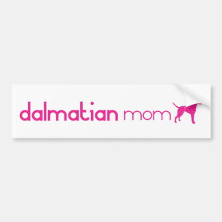 Dalmatian Mom Car Bumper Sticker