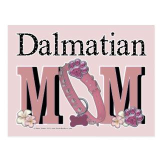 Dalmatian MOM Postcard