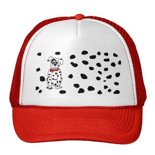 Dalmatian mummy mesh hat