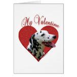 Dalmatian My Valentine Card