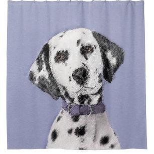Dalmatian Spots Shower Curtains
