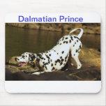Dalmatian Prince Mouse Pad