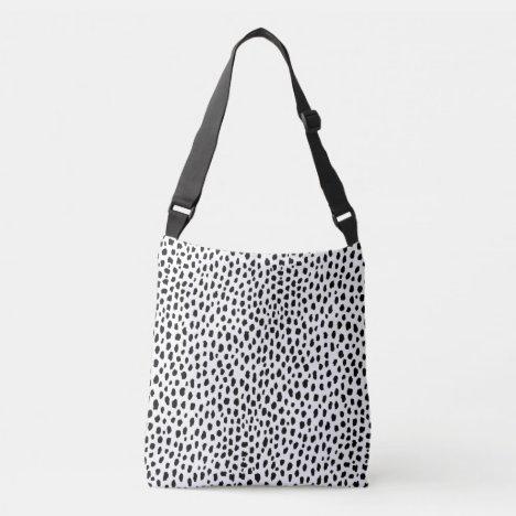 Dalmatian Print Crossbody Bag