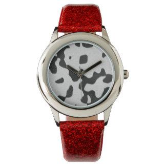Dalmatian Print Wrist Watches