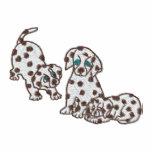 Dalmatian Puppies Embroidered Jogger Jacket